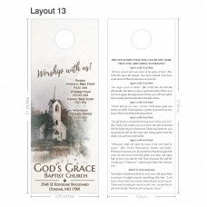 Door Hanger - Jumbo Layout 013