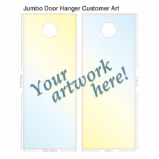 Door Hanger - Jumbo - Customer Art