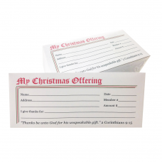 Christmas Offering Envelope Layout 05