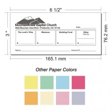 Offering Envelope Layout 1