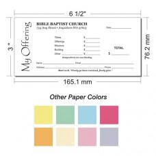 Offering Envelope Layout 6