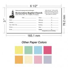 Offering Envelope Layout 13