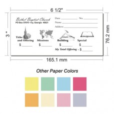Offering Envelope Layout 16