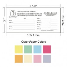 Offering Envelope Layout 17