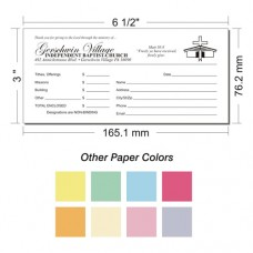 Offering Envelope Layout 21