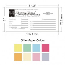 Offering Envelope Layout 22