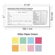 Offering Envelope Layout 24