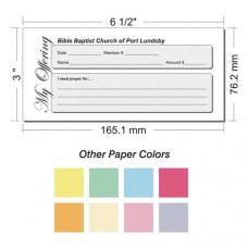 Offering Envelope Layout 25