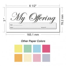 Offering Envelope Layout 26