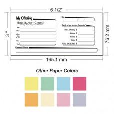 Offering Envelope Layout 27