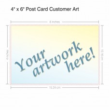 "4"" x 6"" Postcard - Customer Art"