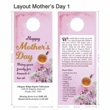 Door Hanger - Layout Mother's Day 001