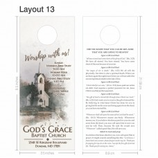 Door Hanger - Layout 013