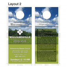 Door Hanger - Layout 002