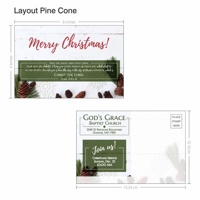 Christmas Postcard Layout 001